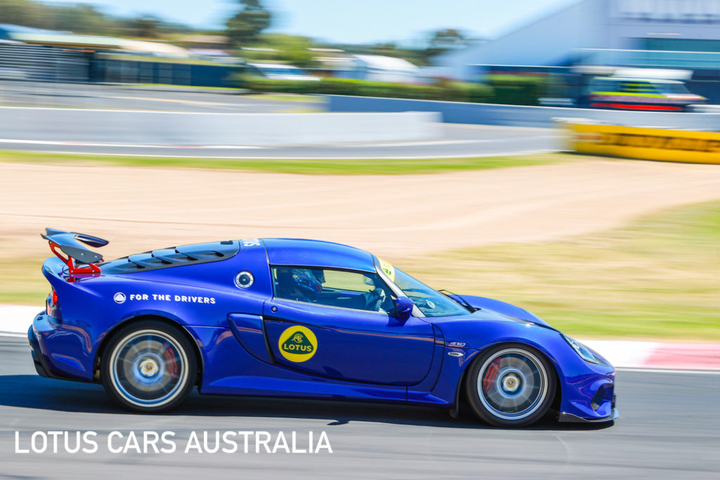 Lotus Cars Australia Mount Panorama Bathurst Track Day Blue Exige Sport 410 On The Track March 2021